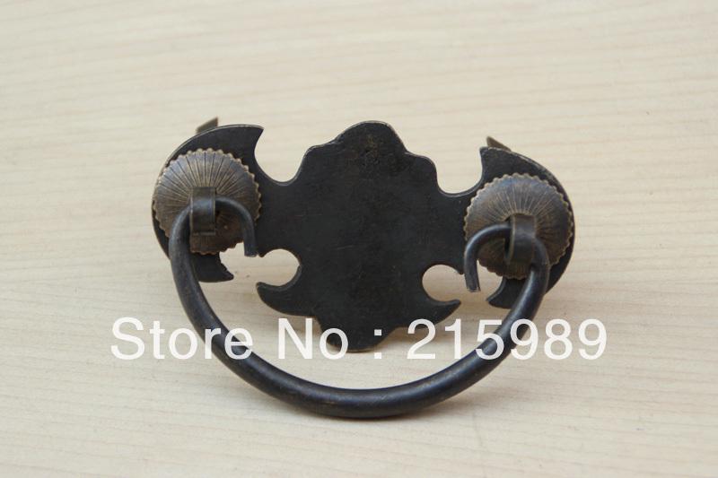 Classical furniture accessories/retro drawer handle/copper LEO-D05(China (Mainland))
