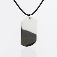 Pure glossy male big titanium steel necklace pendant unique non-mainstream jewelry accessories