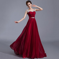 Evening Dresses 2014 Good Quality Fashion Red Wedding Long Party Dress The Bride Married Slim Prom Dress Formal Dress lf1018