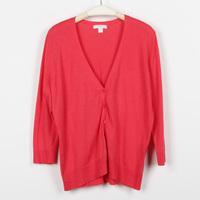 Sweater autumn women's 100% cotton cardigan long-sleeve V-neck g2.4 . 1 c419