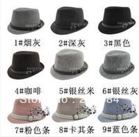 Children hat Children Children's belt buckle hat jazz hat child hat