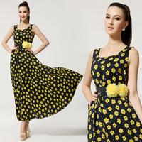 s-xl новые модные женские летние печати обратно полый спереди короткие сзади длинные тонкие сексуальные платья #fa009