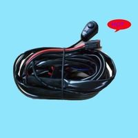 one control one LED wrok switch relay wire harness 3 Metter suit for 2pcs LED working lights/bar lights 300w