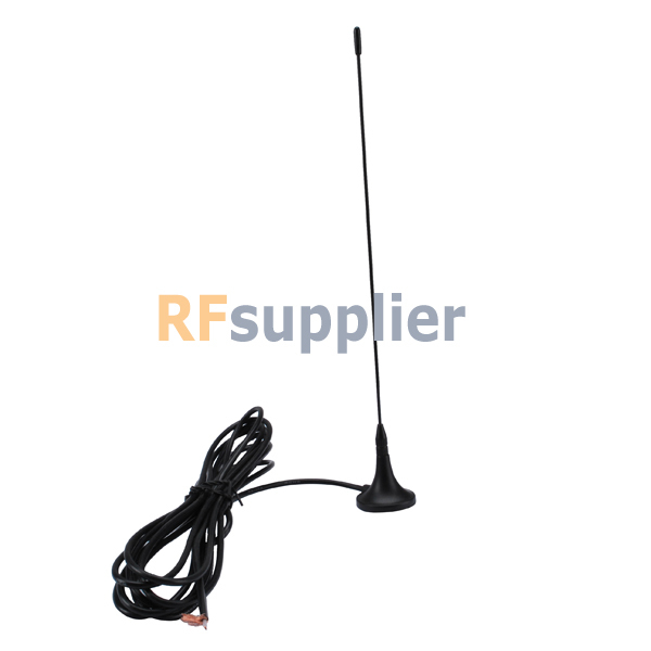 2x Antenna 315Mhz,3dbi SMA Plug straight with Magnetic base for wireless data transfer(China (Mainland))