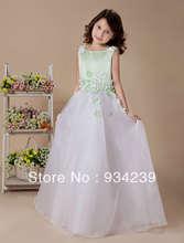 wholesale handmade flower girl dresses