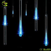 Free shipping 0.2M double-sided christmas light tree mini meteor decorative icicle light of waterproof Rain tube(China (Mainland))