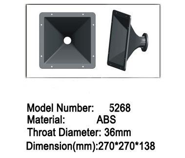 1.4 inch PA Speaker Horn ABS MaterialSpeaker Horn(China (Mainland))