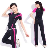 Yoga clothes set fitness clothing aerobics clothing female 21512 22124