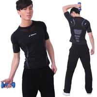 Yoga clothes set fitness clothing men's js005 nk808