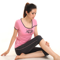 2014 yoga clothes fitness aerobics clothing 11843 12212