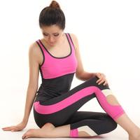 2014 yoga clothes fitness aerobics clothing 11849 12849