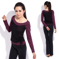 Yoga clothes set fitness clothing aerobics clothing female 11825 12159