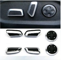 VW Volkswagen modified chrome seat adjustment knob button Button Switch For Tiguan CC Passat B7