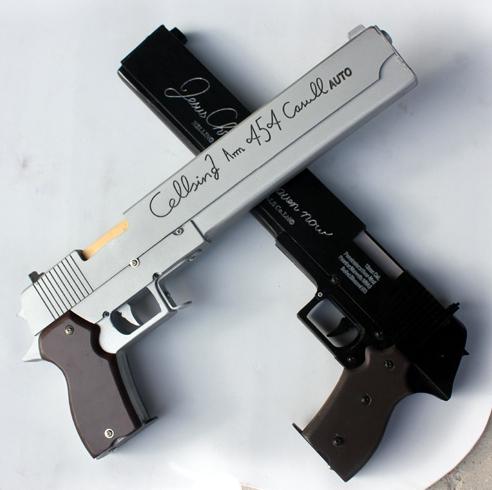 Ficha de Alan Walker Hellsing-OVA-Alucard-chacal-hechos-a-mano-arma-resina-34-cm-cosplay-Prop-ee-uu-AU