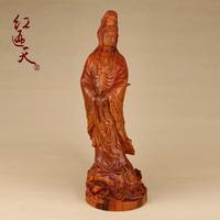 Red pear wood beads buddha mahogany crafts decoration