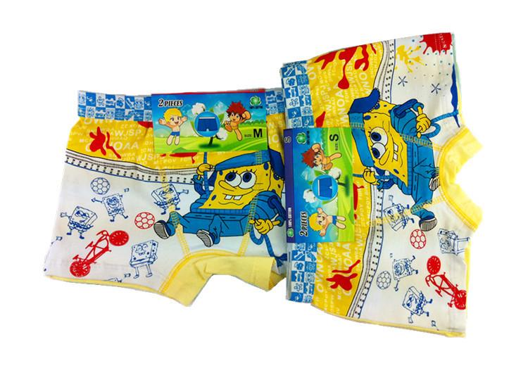 free shipping 4 PIECES/lot, mickey kids,underwear, boy's brief,cartoon ...