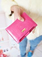 2013 vintage rose design fashion short wallet
