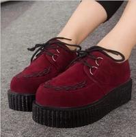 Harajuku platform shoes platform shoes women's shoes 2013 vivi fashion british style vintage single shoes size 35-39