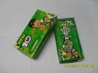 Child watch ben10 watch cartoon watch electronic quartz watch pin buckle fashion watch