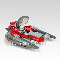 Good quality No original box airship 112pcs building blocks children educational toys birthday gift free shipping