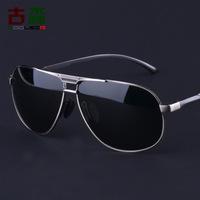 2014 real adult polaroid black alloy wholesale men new fashion sunglasses polarized glasses yurt a154