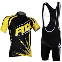 2014 New Arrive Short sleeve Cycling Jersey /Bike Bicycle Wear With  Bib Shorts Suits Size :S~XXXL