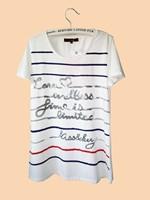 2014 cotton sports fashionable casual print short-sleeve female