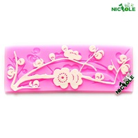 Nicole silica gel mould lace decoration sugar tools sugar lace embossed mould sugar mould