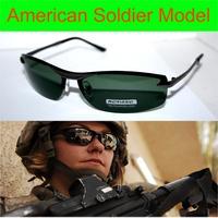 LUXURY US SOLDIER MODEL Driver's TAC enhanced polarized polaroid polarised golf ski UV 400 Men's sunglasses with foam bag n box