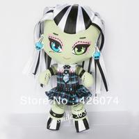 MONSTER HIGH Dolls Original , stuffed dolls,Frankie Stein,27cm,dolls for girls,free shipping