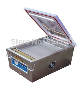 Vacuum sealing machine DZ260 air injection filling food bags sealer tools plastic aluminum filter paper capping close welding(China (Mainland))