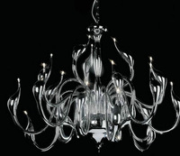 50% sales promotion New Modern 24-Lights Swan Chandelier By Italian Designer w G4 Led  different colors Free shipping
