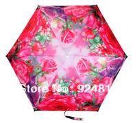 2014 new Free shipping top high-quality fashion romantic rose ladies umbrella
