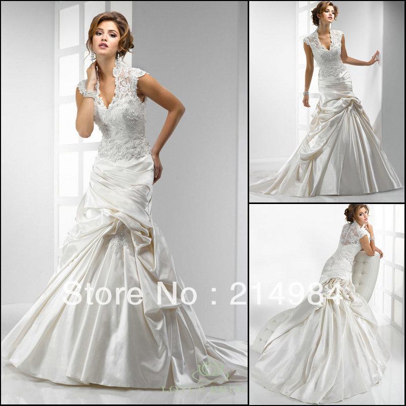 Ivory And Burgundy Wedding Dresses 26