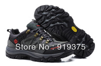 2014 new Male outdoor shoes net surface mountain hiking shoes male low helped breathable mountaineering shoes tenis originals