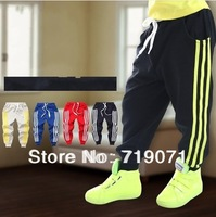 2014 spring and autumn boys clothing baby child casual pants sports  pants long children pants