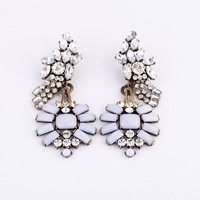 Fashion fashion accessories crystal goldenbarr women's earrings stud earring accessories