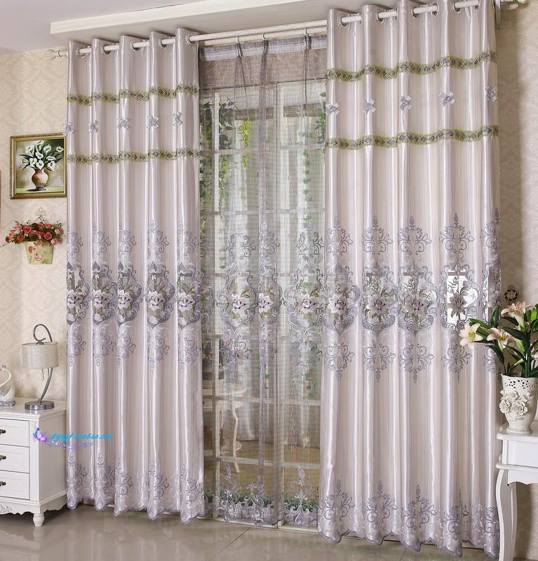 Pano nos qualidade dodechedron cortina terminou seda bordada produto rústico(China (Mainland))