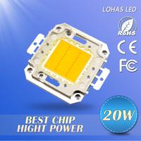Factory Price  20W LED Chip warm white/cool white light&lightning free shipping