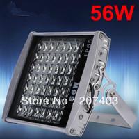 Free shipping by FEDEX 56W LED Tunnel Light High Quality LED Floodlight AC85-265v 2 years warranty LED street light