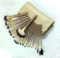 Wholesale 1Set/lot New makeup brush 18 pcs cosmetic makeup brushes set make up case professional cleaner face brush