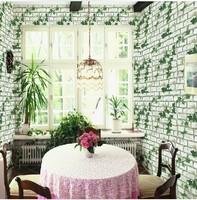 Pvc wallpaper brick balcony wall wallpaper waterproof