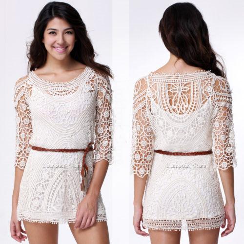 Lace Crochet Dress Pattern