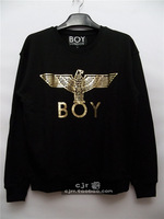 London 2013 boy sweatshirt bronzier eagle bigbang letter logo long-sleeve pullover sweatshirt