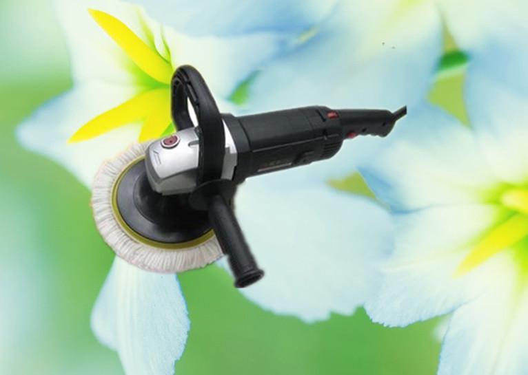 220v horizontal polishing machine car waxing polishing machine high power floor wax(China (Mainland))