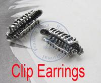 clip earrings ear clip rings fashion for women girl's lady unisex skull bone design CN post