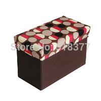 Storage stool folding stool multifunctional oxford fabric storage box Small storage stool