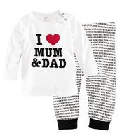 1pc retail 100% cotton pajamas kids 2-7 years hot design promotion
