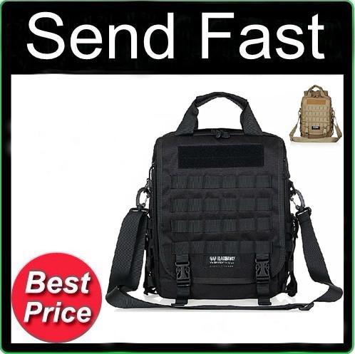 Free shipping Blackhawk Tactical Backpack Travel Outdoors Computer Mobile Messenger shoulder bag(China (Mainland))