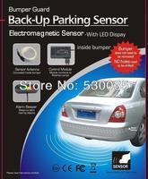 Electromagnetic Car parking sensor system,car parking Assistance,reverse parking sensor,no holed no drilled Free Shipping